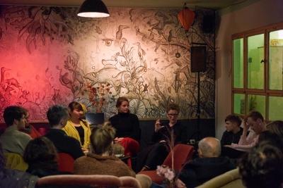 Unser Raum – Die Hörveranstaltung im Hostel & Garten Eden
