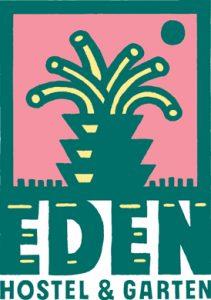 Unterstützer: Logo des Hostel & Garten Eden