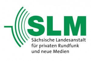 Logo der Sächsischen Landesanstalt für privaten Rundfunk und neue Medien